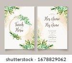 watercolor flowers background... | Shutterstock . vector #1678829062