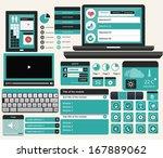web ui concept blue version...