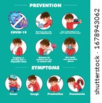 symptoms and instructions for... | Shutterstock .eps vector #1678943062
