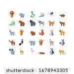 set of icons geometric wild... | Shutterstock .eps vector #1678943305