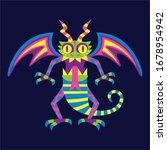 vector cute colorful cartoon...   Shutterstock .eps vector #1678954942