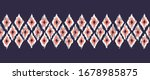 hand drawn red  indigo and... | Shutterstock .eps vector #1678985875