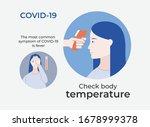 simple coronavirus poster says...   Shutterstock .eps vector #1678999378
