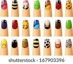 vector illustration of various... | Shutterstock .eps vector #167903396