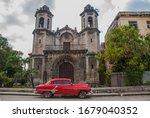 Havana  Cuba  March 2018  Retr...