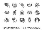 friendship and love icons.... | Shutterstock . vector #1679080522