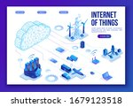 internet of things  infographic ... | Shutterstock .eps vector #1679123518