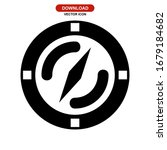 compass icon or logo isolated... | Shutterstock .eps vector #1679184682
