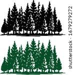 silhouette of eco plants ... | Shutterstock .eps vector #1679279272