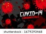 corona virus 2019 design poster | Shutterstock . vector #1679293468
