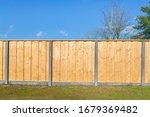 Built New Horizontal Wooden...