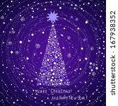 christmas card  rasterized | Shutterstock . vector #167938352