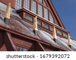 Detail Of The Kiruna Church...