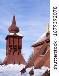 Kiruna Church Building With...