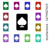 ace of spades multi color style ...
