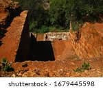 Inner Dilapidated Structure Of...