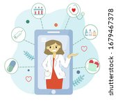 modern concept of online...   Shutterstock .eps vector #1679467378