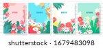 illustration set season element ... | Shutterstock .eps vector #1679483098