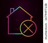 house percent nolan style icon. ...