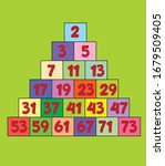 Prime Numbers On Green...