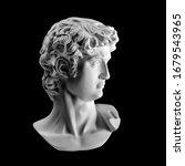 Gypsum Statue Of David\'s Head....