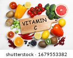 Board With Phrase Vitamin C And ...
