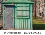 Old Wooden Small Building...