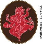 Ganesha  Elephant God  Abstrac...