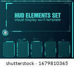 interface elements hud  ui  gui....