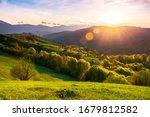 Countryside Scenery In...