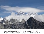 Scenic View Of Mount Everest 8...