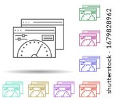 dedicated dashboard multi color ...
