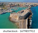 Heraklion / Crete ,   photo of Heraklion , Iraklio capital of the Greek island of Crete  taken by Hand Camera