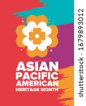 asian pacific american heritage ... | Shutterstock .eps vector #1679893012