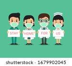 covid 19 virus protection... | Shutterstock .eps vector #1679902045