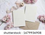 wedding stationery mock up... | Shutterstock . vector #1679936908