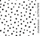 polka dot hand drawn seamless... | Shutterstock .eps vector #1679967898