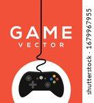 video game logo poster  control ... | Shutterstock .eps vector #1679967955