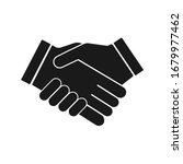 handshake vector icon  business ...   Shutterstock .eps vector #1679977462