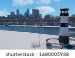 Winter In Minnesota. The Boom...