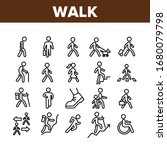 walk people motion collection... | Shutterstock .eps vector #1680079798