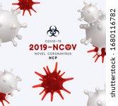 novel coronavirus  2019 ncov .... | Shutterstock .eps vector #1680116782