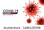 coronavirus disease covid 19... | Shutterstock .eps vector #1680120298