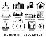 government mco movement control ... | Shutterstock .eps vector #1680129535