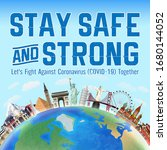 """stay safe and strong """"let's... 