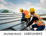 Engineers Worker Install New...