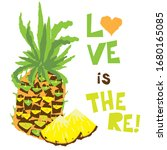 love is there  vector image of...   Shutterstock .eps vector #1680165085
