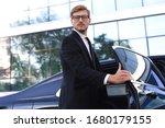 Elegant Young Businessman...