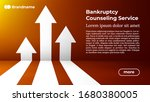 bankruptcy counseling service   ...   Shutterstock .eps vector #1680380005