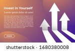 invest in yourself   web... | Shutterstock .eps vector #1680380008